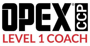 OPEX CCP Level 1 Coach Logo